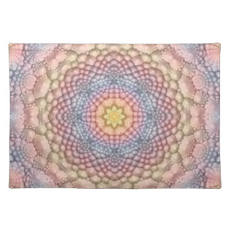Soft Pastels Colorful Cloth Placemats