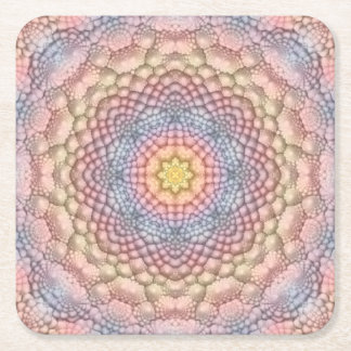 Soft Pastels Colorful Coasters