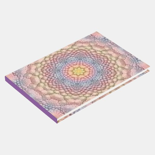 Soft Pastels Kaleidoscope Guestbook
