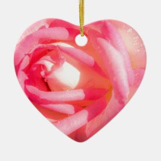 Soft Pink Ceramic Ornament