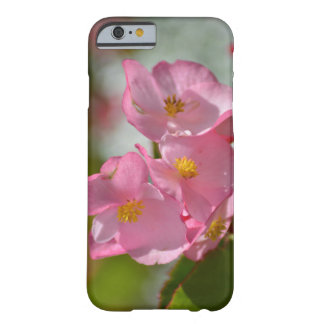 Soft Pink Flowers Barely There iPhone 6 Case