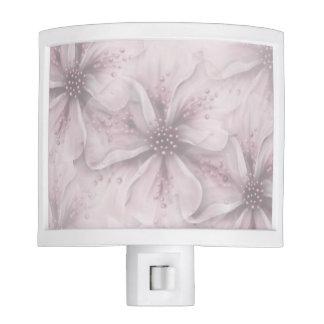 Soft Pink Flowers Nite Light