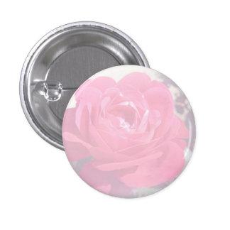 Soft Pink Haze Rose Button