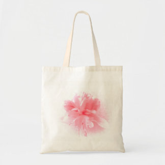 Soft Pink Peony Flower Tote Bag