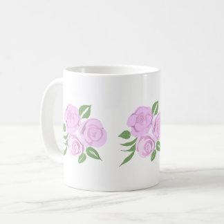 Soft Pink Roses Mug