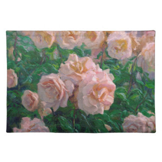 Soft Pink Roses Placemat