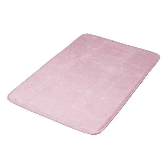 Soft Pink Textured Bath Mat