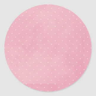 Soft Pink with Little Polka Dots Stickers