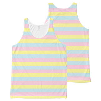 Soft Pink, Yellow and Blue Stripes