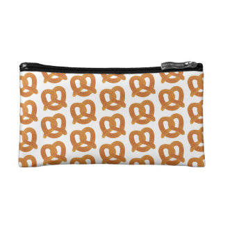 Soft Pretzel Pattern Makeup Bag