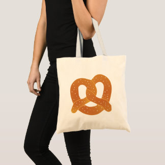 Soft Pretzel Tote Bag