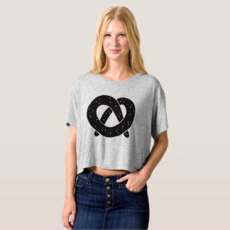 Soft Pretzel Women's Cropped Boxy Tee