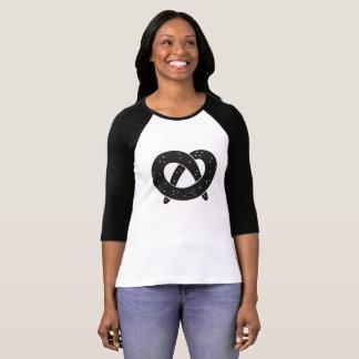 Soft Pretzel Women's Raglan Sleeve T-Shirt