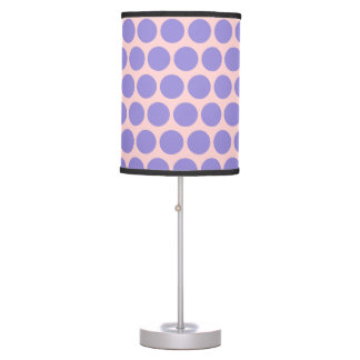 Soft Purple Dots Table Lamp
