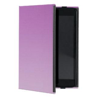 Soft Purple Ombre Cover For iPad Mini
