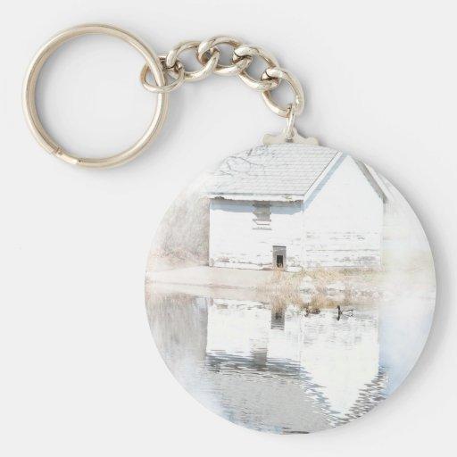 Soft reflections key chain