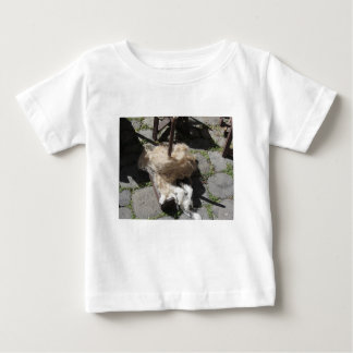 Soft rolls of wool called rovings or rolags baby T-Shirt