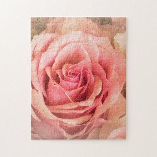Soft Rose Blush Puzzles