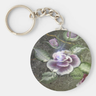 Soft Rose Key Chain