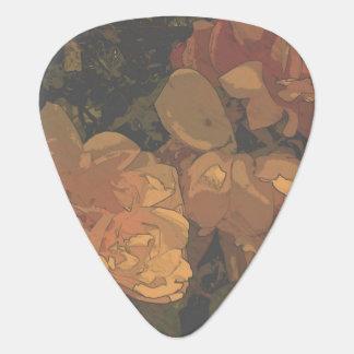 Soft Roses Guitar Pick