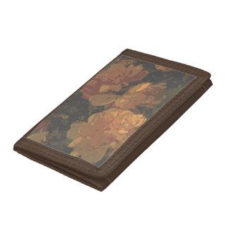 Soft Roses Tri-fold Wallet