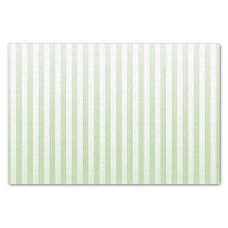 Soft Sage and White Stripes Tissue Paper