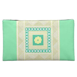 Soft Sea Green Makeup Bag