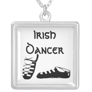 Soft Shoe Ghillies Irish Dance Necklace