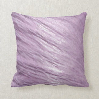 Soft & Silky Pastel Pink Throw Pillow