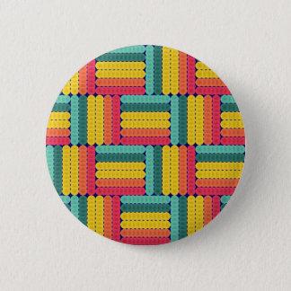 Soft spheres pattern 2 inch round button