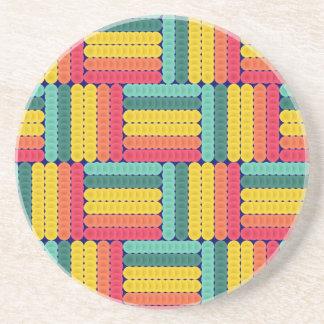 Soft spheres pattern coaster