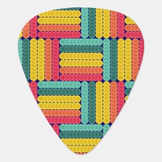 Soft spheres pattern guitar pick