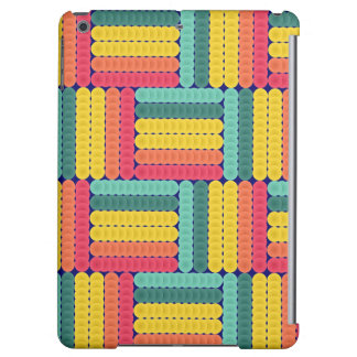 Soft spheres pattern iPad air cover