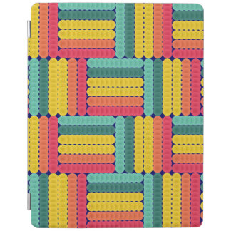 Soft spheres pattern iPad cover