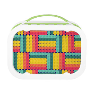 Soft spheres pattern lunch box