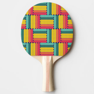 Soft spheres pattern ping pong paddle