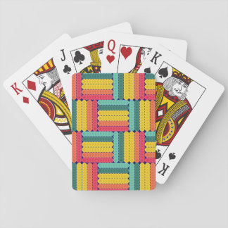 Soft spheres pattern playing cards