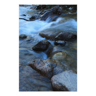 Soft Stream Photo Print