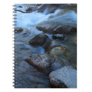 Soft Stream Spiral Notebook