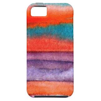 Soft Sun Play Beach Sunset Ocean Waves Art iPhone 5 Case