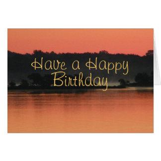 Soft Sunrise Card-customize any occasion Card