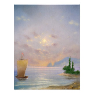 Soft sunset beach (all) letterhead