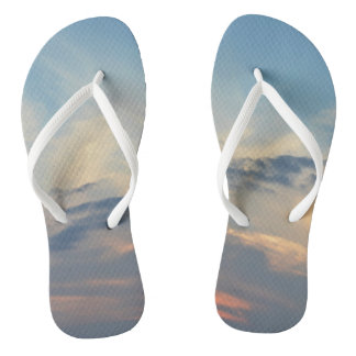 Soft Sunset Flip Flops