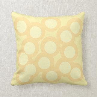 Soft Sunshine Pillow/Cushion Vers 2 Circles Throw Pillow