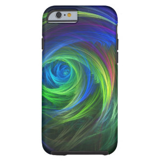 """""""Soft Swirl"""" Fractal Abstract Tough iPhone 6 Case"""