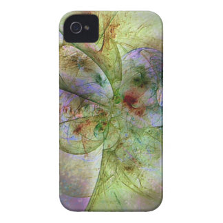 Soft Swirling Colors Abstract iPhone 4 Cases