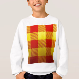 Soft Tartan Feel With Bright Colours Sweatshirt