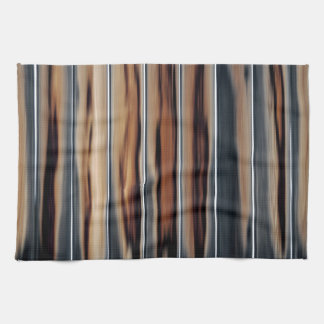 Soft Toned Wood Texture Cool Unique Kitchen Towel
