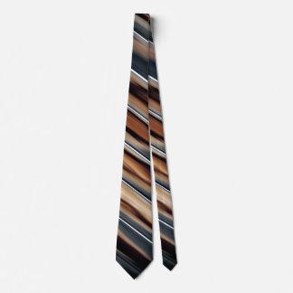 Soft Toned Wood Texture Cool Unique Tie