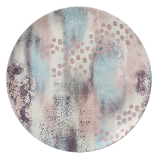 Soft Touch Painterly Plate